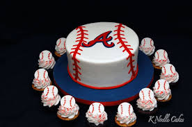 Decorative Cakes Atlanta Atlanta Braves Cake Baseball Party Ideas Pinterest Atlanta