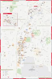 Map Of Las Vegas Strip Casinos by Las Vegas Map Iconic Casinos Location Map Showing Tramway Stops