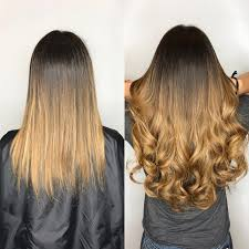 Color Hair Extension by Hair Extensions Miami By Best Salon Great Lengths Salon Tape