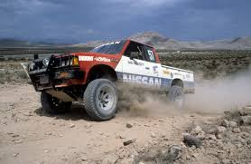 nissan frontier off road racing nissan pick up possibly sherman balch truck race dezert