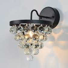 aliexpress com buy classic crystal wall lamp lampshade 40w e27