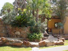 Houzz Backyards Landscaping Desert Landscaping Ideas Backyard Landscaping Ideas
