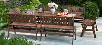 Wooden Patio Tables Wood Outdoor Furniture Table Set Meeting Rooms With