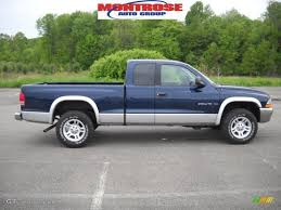 dodge dakota slt 2001 patriot blue pearl dodge dakota slt cab 4x4 30037678