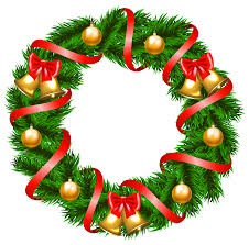 Decoration Christmas Png wreath clipart holiday decoration pencil and in color wreath