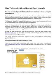how to get a prepaid card how to get a us prepaid card instantly by webworldatom issuu