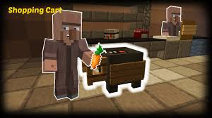 Minecraft How To Make A Furniture by Minecraft How To Make A Shopping Cart Youtube