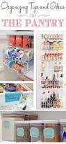 Organizing U0026 Storage Tips For by 106 Best Pantry Organization Images On Pinterest Organizing