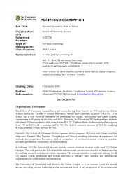 cover letter example for resume cv cover letter veterinary