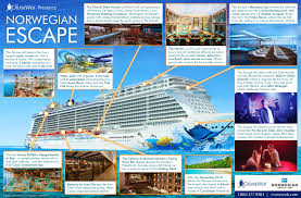norwegian escape cruise ship 2017 and 2018 norwegian escape