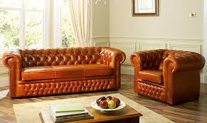 Leather Sofas London - Chelsea leather sofa
