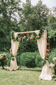 How To Decorate A Wedding Arch 53 Head Turning Wedding Ceremony Arches And Backdrops Junebug