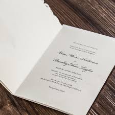 Blank Wedding Invitation Card Stock Aliexpress Com Buy White Laser Cut Wedding Invitations Cards