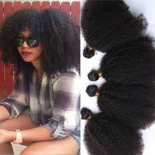 curly extensions curly hair 8a grade 4 pcs afro curly