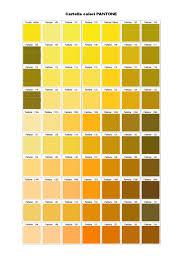 Pantone Yellow by Cartella Colori Pantone By Valentina Mirandola Issuu