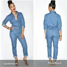 sleeve denim jumpsuit jean rompers and jumpsuits vsw fashion