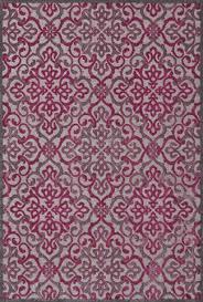 Raspberry Pink Rug Purple Rugs Modern Shaggy Chic U0026 Graphic Print Burke Decor U2013 Page 3