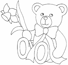trend teddy bear coloring pages free 57 remodel free