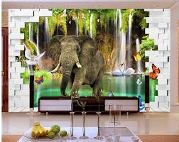 online get cheap elephant wall murals aliexpresscom alibaba group wall murals elephant
