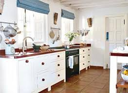 great example of terracotta floor working in a kitchen love