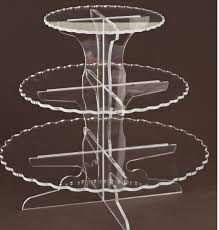 acrylic cake stands beautiful 3 tiers acrylic cake stand display pmma cup cake stand