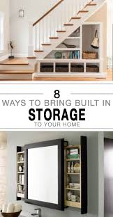 8 ways to bring built in storage to your home