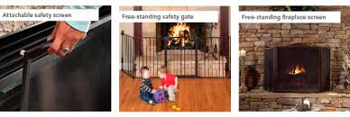 Free Standing Fireplace Screens by Products Glass Safety Burns Glass Fireplaces Stoves