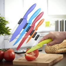 colored kitchen knives colorful kitchen knives add to loading colorful knife set costco