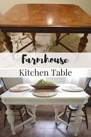 Furniture Kitchen Table Best 25 Farmhouse Kitchen Tables Ideas On Pinterest Diy