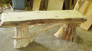 Handcrafted Wood Tables Cedar Log Benches Benches U0026 Chairs Handcrafted Log Furniture