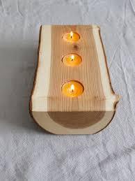 porta candele 20 idee per portacandele fai da te in legno mondodesign it