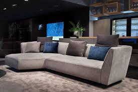 modular sofa contemporary fabric brown cloud art nova srl