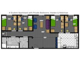 Multi Family Apartment Floor Plans Floor Plans Office Of Residence Life University Of Wisconsin