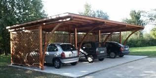 struttura in legno per tettoia tettoie per auto protettive e da vedere consigli giardino