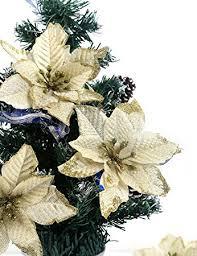 bei wang 6 pcs 13cm tree decorative silk flower gold