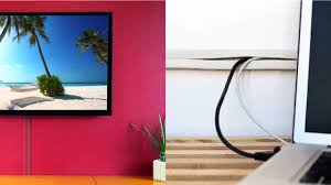 Cord Channel To Conceal Wall Mount Tv Cables On The Wall By Ut