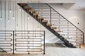 Industrial Stairs Design 30 Industrial Steel Staircase Designs For Your Vintage Home