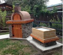 Brick Oven Backyard by Wood Fired Outdoor Brick Pizza Oven And La Caja Style Pig Roaster