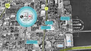 Miami Design District Map by Visitor Info Spectrum Miami 2017