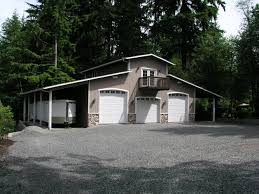 cottage garage plans 3 car shop plans for rv bay garage with double sided lean too