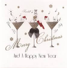 personalised christmas cards packs chrismast cards ideas