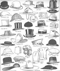 a visual glossary of hat types for men more