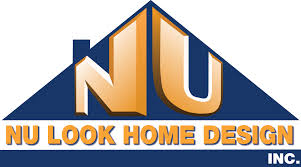 home and design logo nu look home design roofing home design