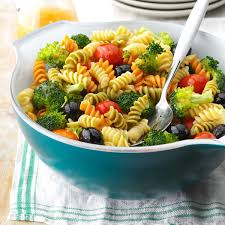 cold salads for thanksgiving colorful spiral pasta salad recipe taste of home