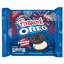 where to buy white fudge oreos oreo firework with popping candy chocolate sandwich cookies 10 7