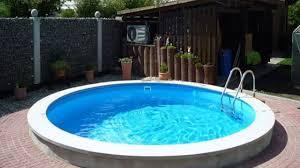 Garten Pool Aufblasbar Pool Aufbauen Lassen Youtube