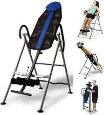 inversion table exercises for back it9250 solosports back stretch inversion table
