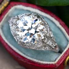 engagements rings vintage images Vintage engagement rings antique diamond rings eragem jpg