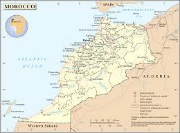 Un Map Un Morocco U2022 Mapsof Net
