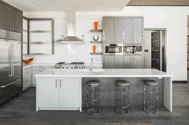 Dark Floors Light Cabinets Kitchen White Kitchen Cabinets With Cherry Wood Floors Modern Classic